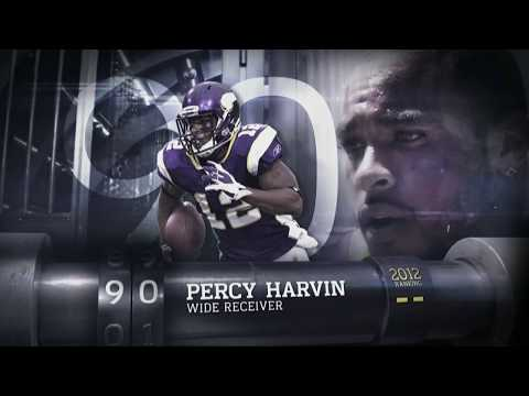 #90: Percy Harvin (WR, Vikings)   Top 100 Players of 2013   NFL