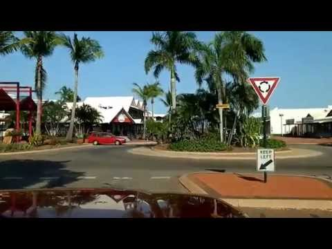 A Drive around Chinatown at Broome Western Australia