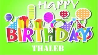 Thaleb   wishes Mensajes