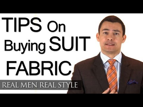 Buying Mens Suit Fabric - Tips To Ensure Suiting Material Is Quality - Beware Counterfeit Fabrics