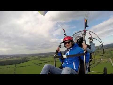 полет с пилотажем на парашюте с пропеллером от ProstoLeti ru в Питере