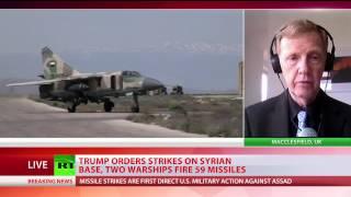 'Dog returns to its own vomit: We forgot lesson of Iraq' - frmr UK ambassador to Syria on US strike