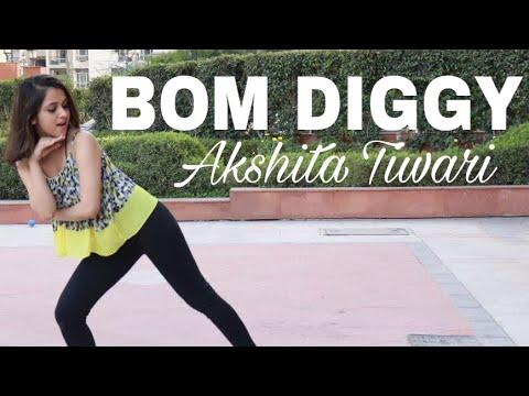 Zack knight x Jasmin Walia- Bom Diggy  Dance Cover  Sonu ke Titu Ki Sweety  Akshita Tiwari.