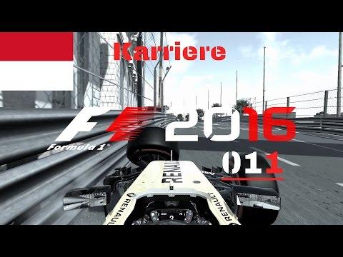 F1 2016 Let's Play (deutsch) #011 Monaco sehen und ... crashen