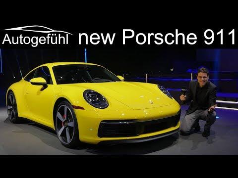 All-new Porsche 911 REVIEW Exterior Interior 992 2019 2020 - Autogefühl