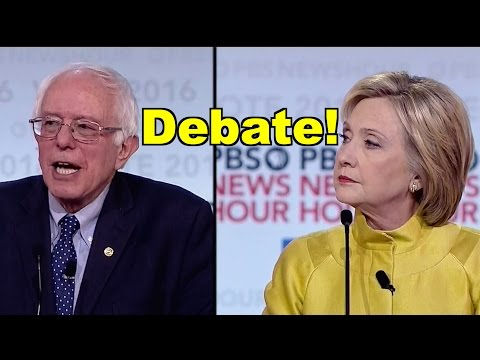 Bernie Sanders v Hillary Clinton Debate in Wisconsin! LV PBS Democratic Debate Roundup