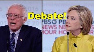 Bernie Sanders v Hillary Clinton Debate in Wisconsin! LV PBS Democratic Debate Roundup