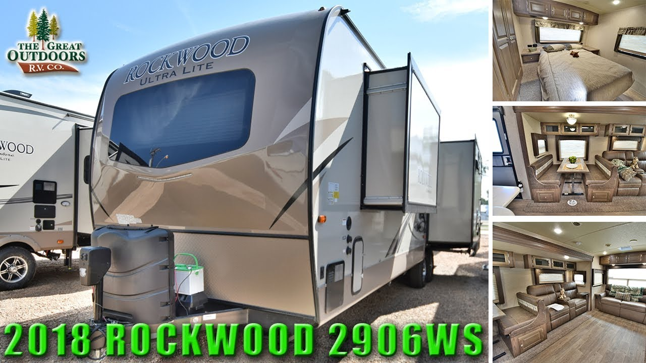 2018 front bedroom rockwood 2906ws ultra lite travel trailer colorado rv [ 1280 x 720 Pixel ]