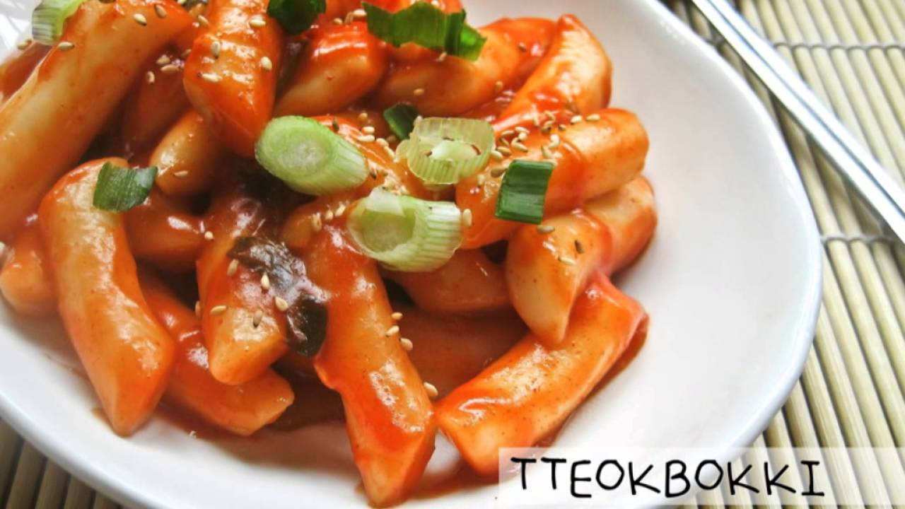 Makanan Pedas Di Bandung Busan Korean Food Street Youtube