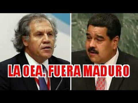 La OEA Defiende a VENEZUELA /Fuera Maduro /