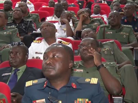 Nigeria Chief Of Defence Staff Lecture