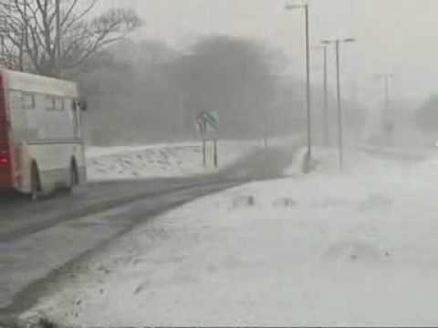 UK Cold Snap November 2008