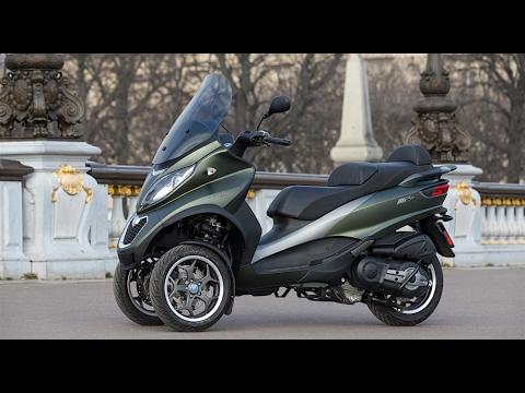 2017 PIAGGIO MP3 500 SPORT Euro4 ESSAI auto-moto.com