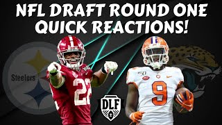 INSTANT DYNASTY REACTIONS FROM ROUND ONE OF THE NFL DRAFT!