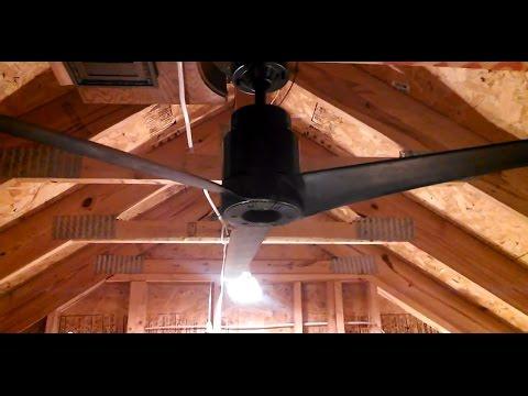 """Emerson """"Strato-Jet"""" Heat Fan """"Blenderfan"""" Ceiling Fan model HF-105201"""