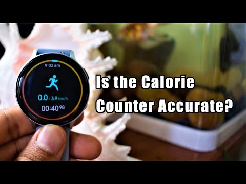 Is the Calorie counter accurate on Samsung Galaxy Watch active 2? A short Analysis