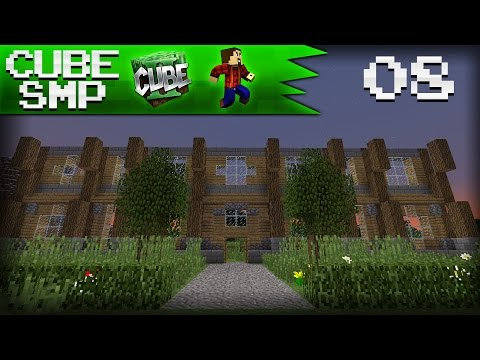 Minecraft Cube SMP: MY MANSION! - Ep 8