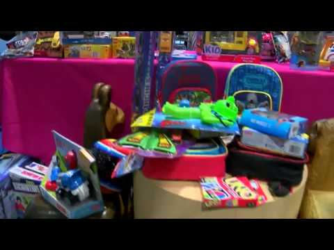 "HTV News Flash: ""Toy Giveaway at Texas Children's Hospital"""