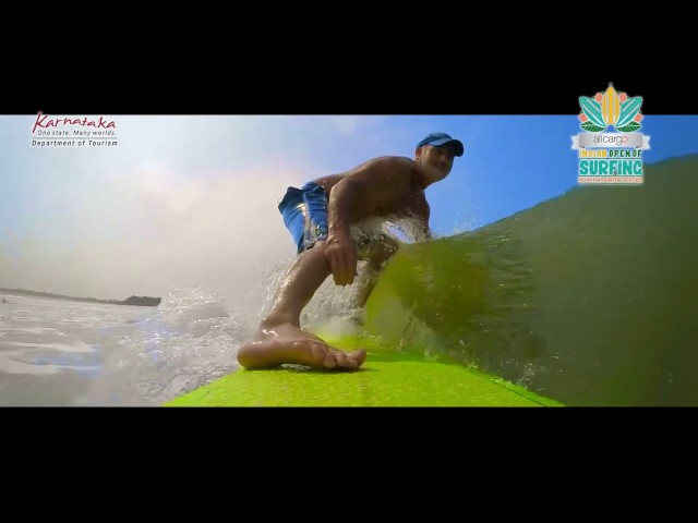 All Cargo Indian Open of Surfing 2016   Promo Video