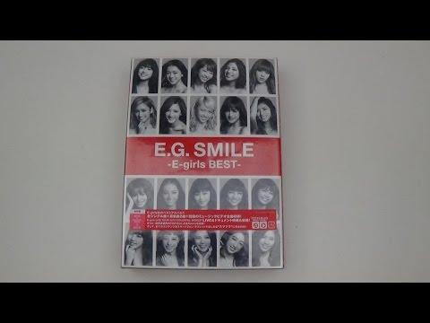 Unboxing E-girls Best Of Album E.G. Smile -E-girls Best- (2 CD+3 DVD Edition)