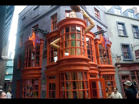 Weasleys' Wizard Wheezes in Diagon Alley @ Universal Studios Florida Full Walk Through