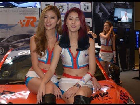 Singapore motorshow 2017 Stunt Show