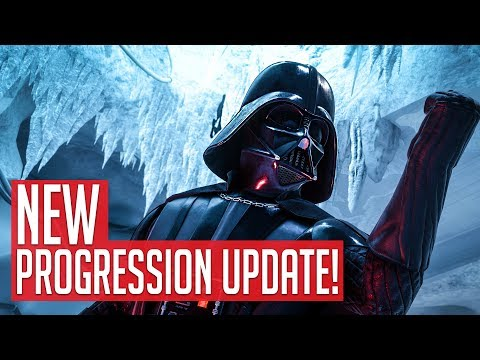 NEW PROGRESSION UPDATE & COMESTIC ONLY MTX - STAR WARS Battlefront 2