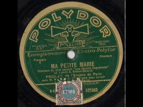 MA PETITE MARIE - J. Lenoir-A. Simon Girard