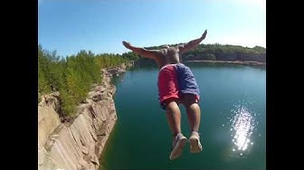 Cliff Jumping & High Diving Extreme Suomi Finland 2015 full HD