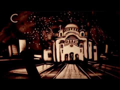 "Sand art ""SERBIA"" by Kseniya Simonova - Песочная анимация ""Сербия"" ( Ксения Симонова)"