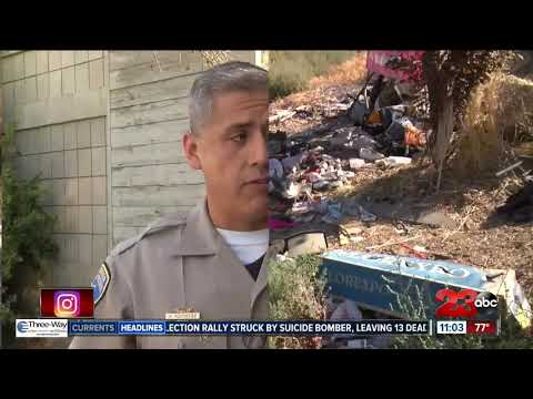 CHP evicting homeless camps in Bakersfield