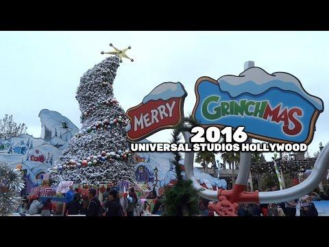 Grinchmas Whobilati area tour during Christmas seas 2016 at Universal Studios Hollywood