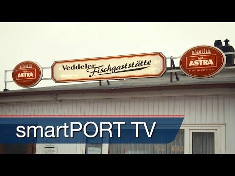 A Legendary Fish Restaurant In The Port Of Hamburg