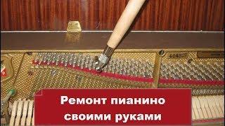 Настройщик Стаж работы 25 лет. Ремонт пианино своими руками