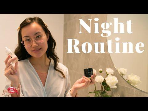 My Night Skincare Routine 2019   Sarah Enn thumbnail