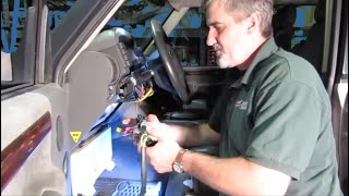 Replace Ignition Key Barrel On Discovery Series II video screen shot