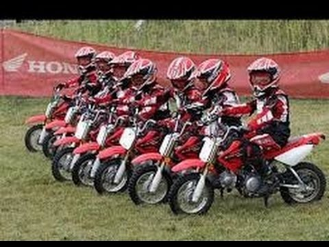 Balap Motor Road Race Cross Anak Kecil Lucu Seru Banget