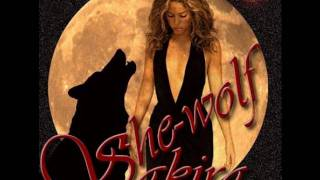 shakira she  wolf with lyrics
