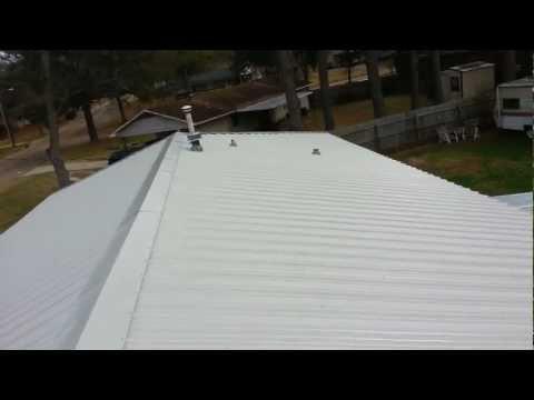 Metal Hip roof Installation