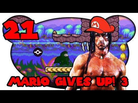 Mario Gives Up! 3 #21 - Der Ultra Dschungel (Let's Play Deutsch Mettbaron Bruugar)