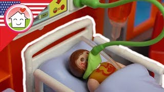 Playmobil film english Anna in Hospital - Allergies - The Hauser Family