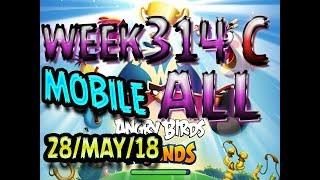 angry birds friends tournament all levels week 314 c mobile highscore power up walkthrough