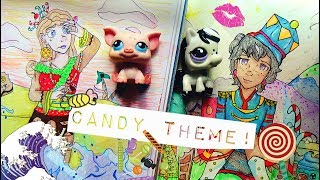 Draw That Lps Challenge #14 [Candy Theme] - Human Form