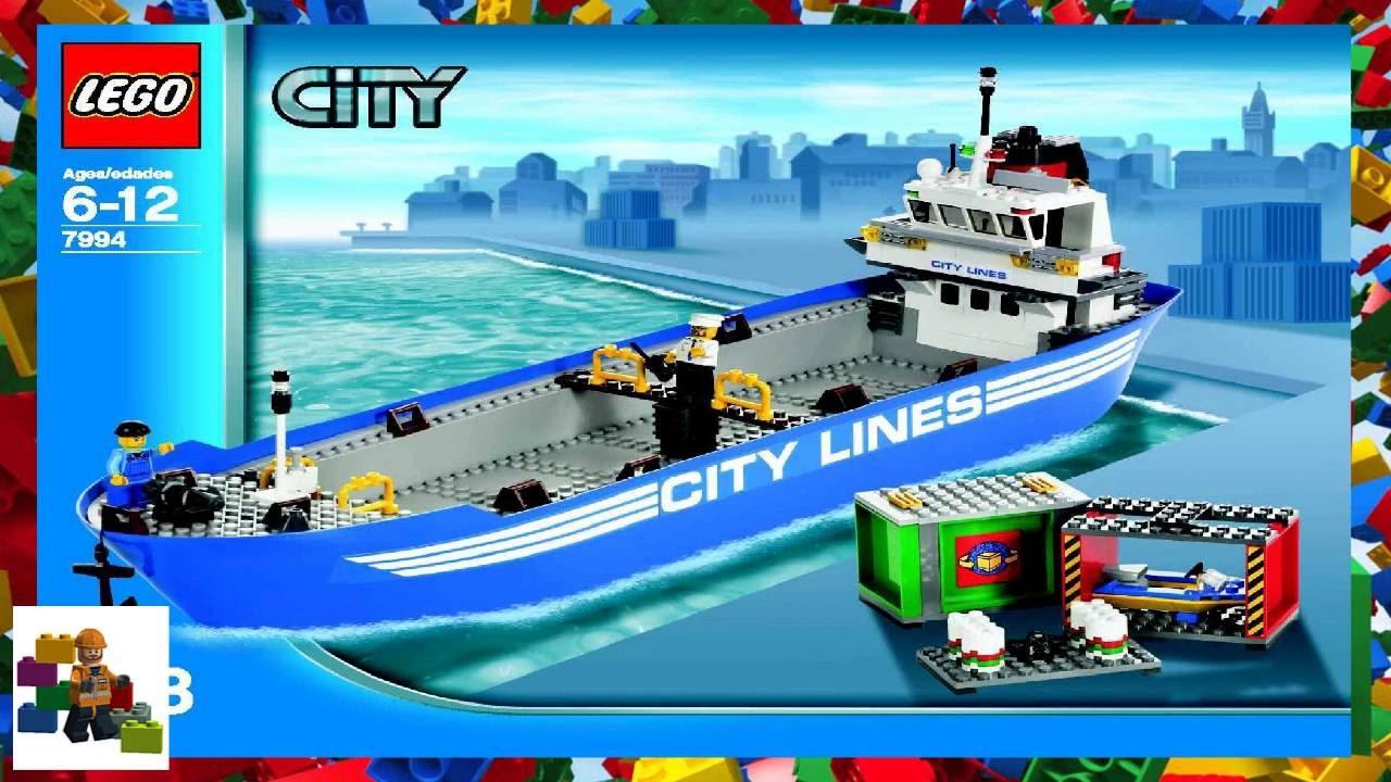 LEGO instructions - City - Harbour - 7994 - LEGO City Harbour (Book 2)