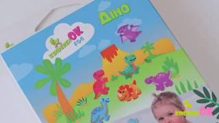 Игрушки на присосках Kinderenok для маленьких любителей динозавров