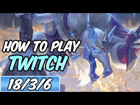 HOW TO PLAY TWITCH Jungle | Build & Runes | Diamond Commentary | Ice King Twitch | League of Legends