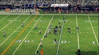 NFL 2013 SNF Week 9 - Indianapolis Colts vs Houston Texans - 1st Qrt - Madden NFL 25 - HD