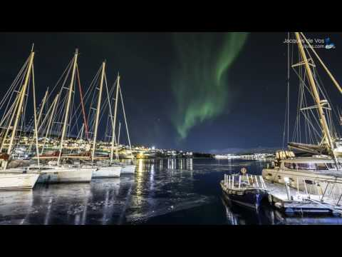 Boreal Yachting Yachts Under Northern Lights