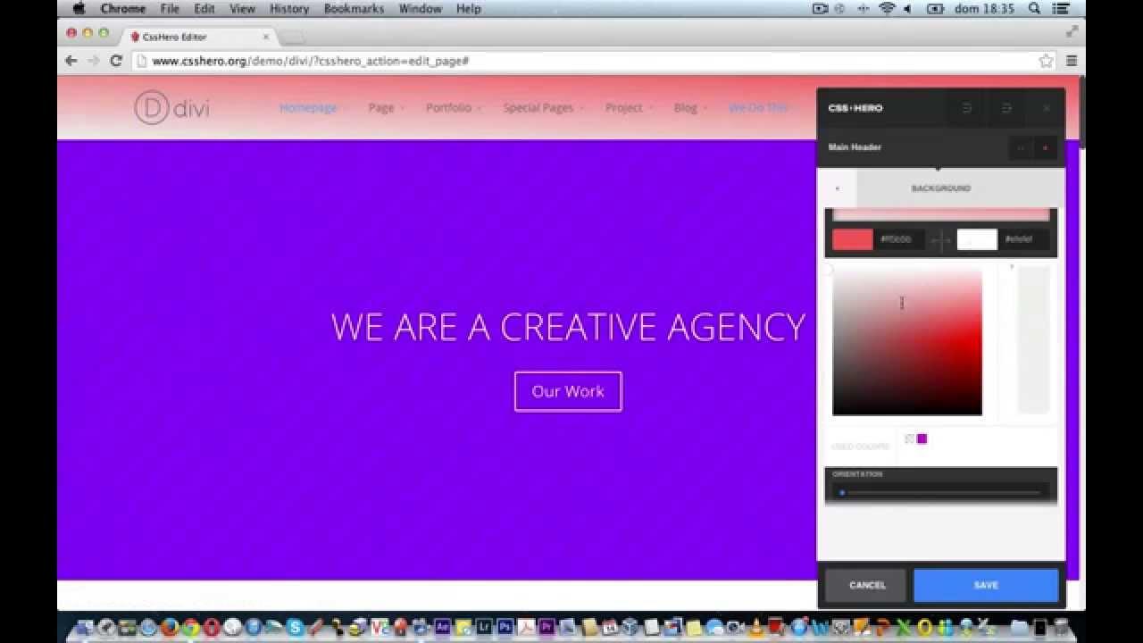Customizing the header of divi wordpress theme youtube - Divi wordpress theme ...