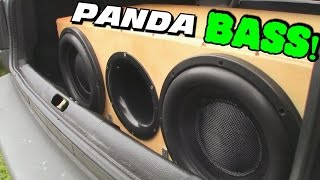 BASS PANDA w/Jays Sleeper TRUNK | 2 12